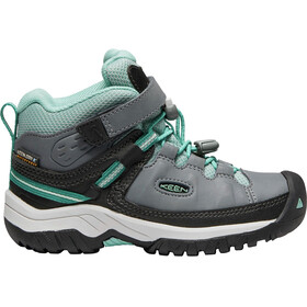 Keen Kids Targhee WP Mid Shoes steel grey/wasabi